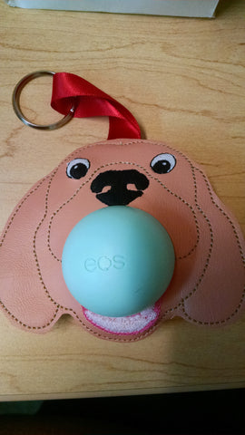 Dog Lip Balm Key Fob