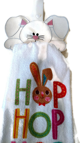 Bunny Kitchen Towel Holder