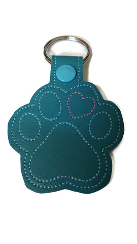 Paw Love Key Fob