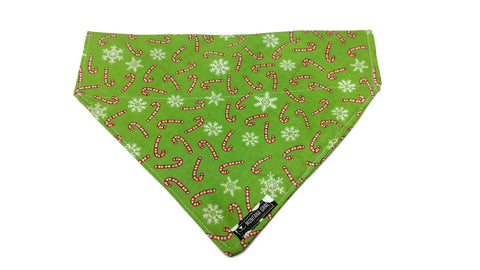 Candy Cane Dandy Dog Bandana
