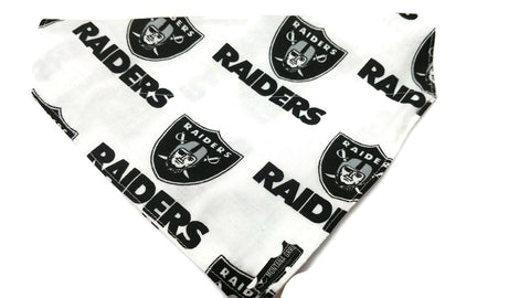Raiders Fan Dog Bandana