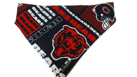 Bears Fan Dog Bandana