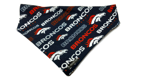 Broncos Fan Dog Bandana