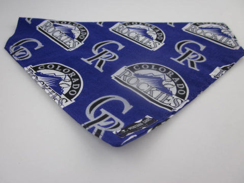 Colorado Rockies Dog Bandana