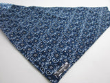 Blue Giddy Up Dog Bandana