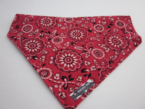 Red Giddy Up  Dog Bandana