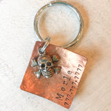 Skull and Cross Bones Pet Tag