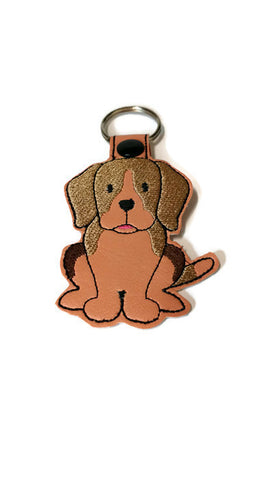 Beagle Dog Key Chain