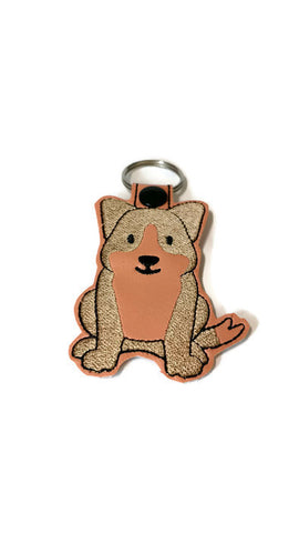 Corgi Dog Key Chain