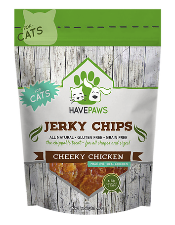 Have Paws Cheeky Chicken Jerky Chips - for cats