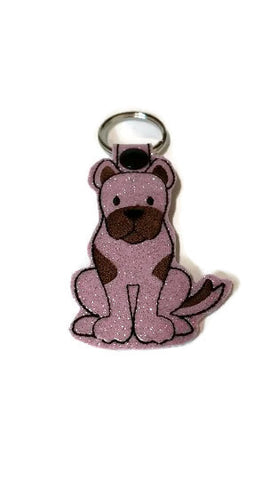 Great Dane  Dog Key Chain