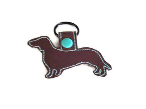 Doxie Outline Key Fob
