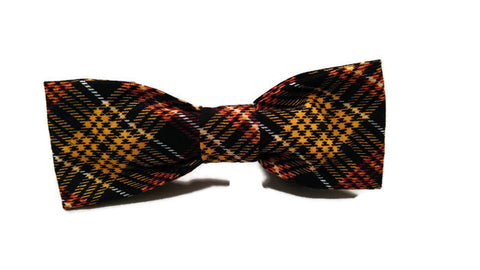Love of Plaid Bow tie