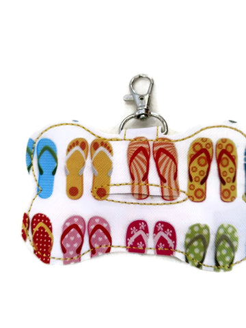 Flip Flop dog poop bag holder