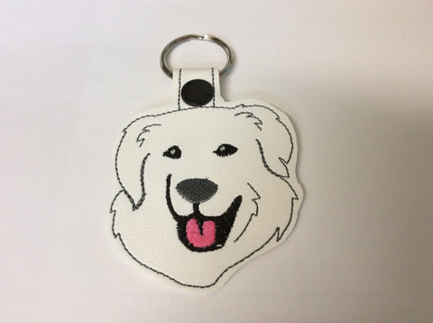 Great Pyrenees Key Fob