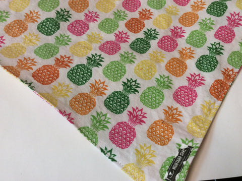 Colorful pineapples Bandana