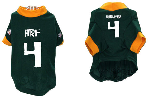 Barkers aka Packers Pet Jersey - #4