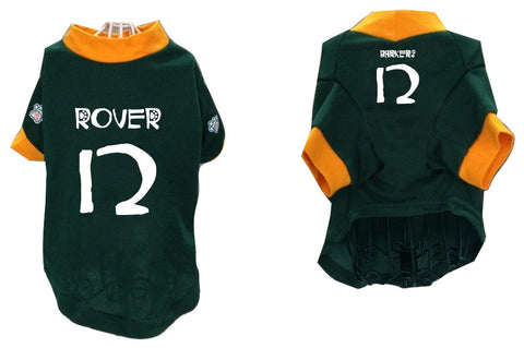 Barkers aka Packers Pet Jersey - #12