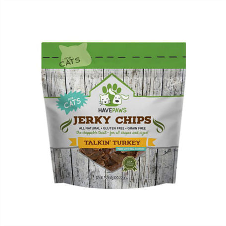 Have Paws Talking Turkey Jerky Chips- for cats