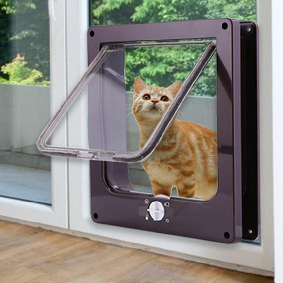 4 Way Lockable pet Door