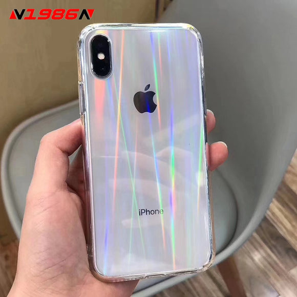 Rainbow Laser Case For iPhone