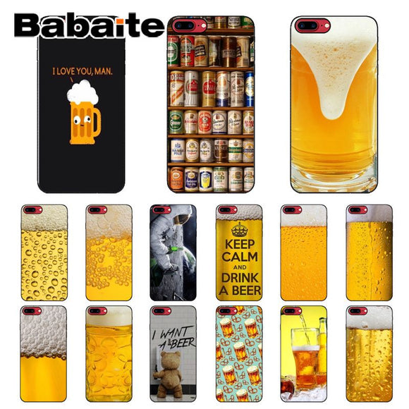 Babaite World of Beers Covers for Apple iPhones