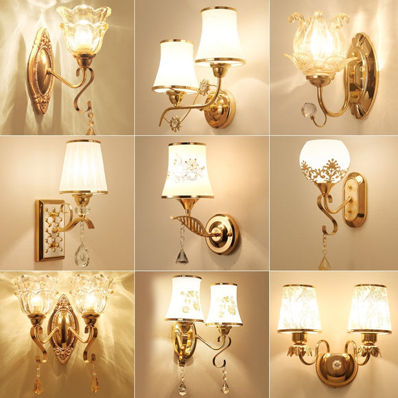 European Classical Style Wall Lights