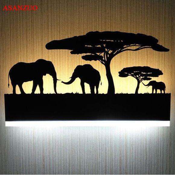 Modern Art Creative LED Wall Light