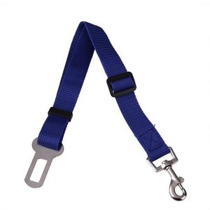 Adjustable Dog Car Safety Seat Belt 43-70cm