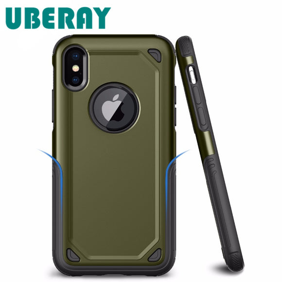 Anti Shock Camouflage Armor Case For iPhones and Samsungs