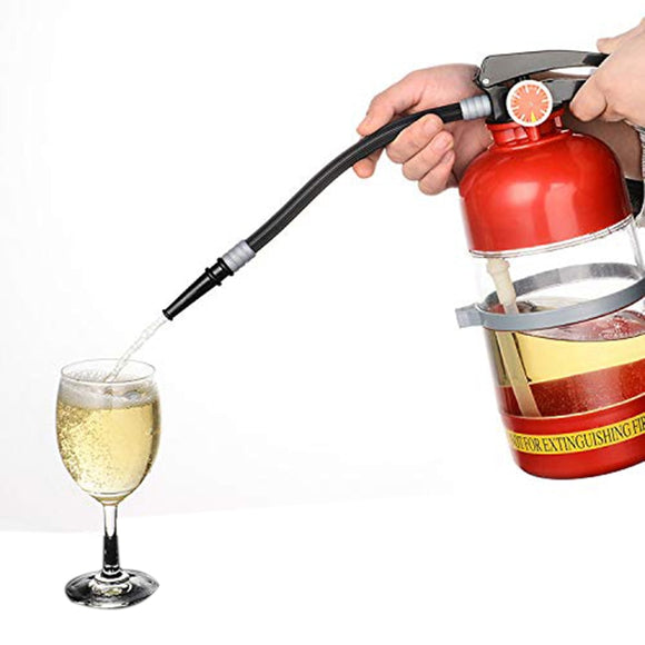 Fire Extinguisher Wine Dispenser, 2,5 Litres