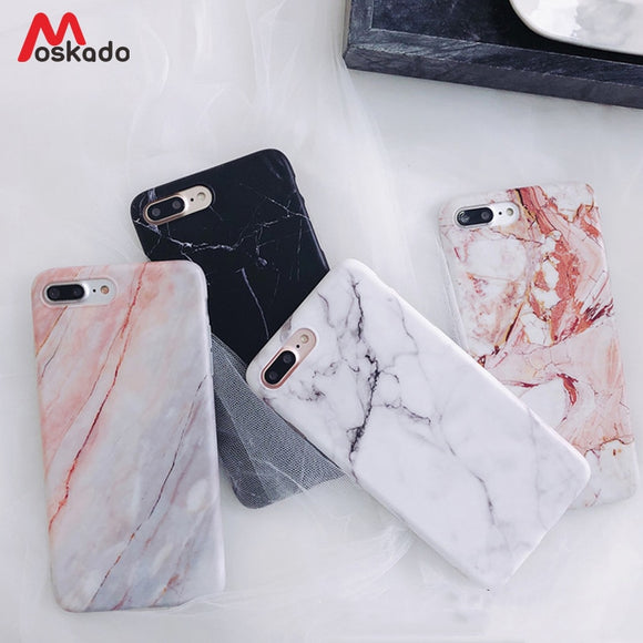 Luxury Glossy Granite Stone Marble Texture Cover For iPhone