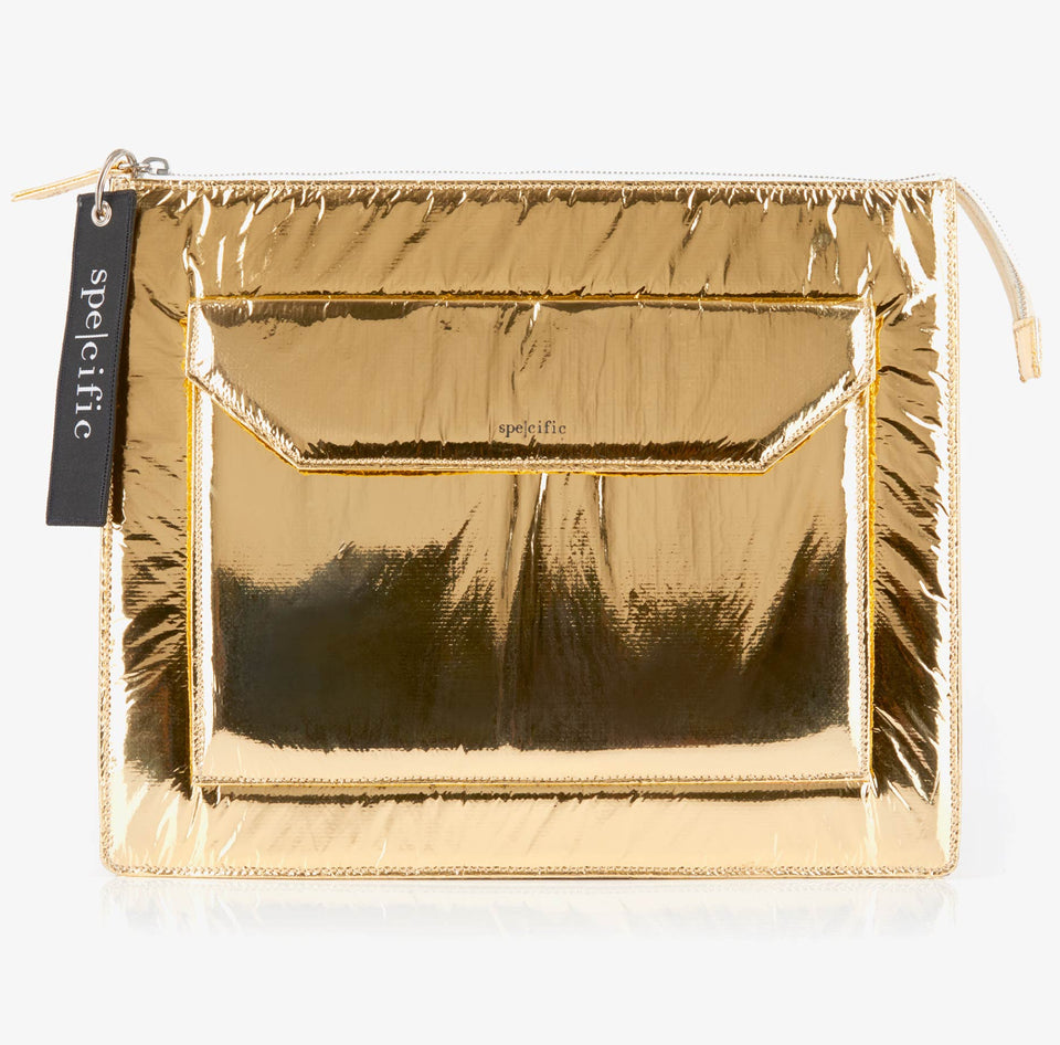 SPE002 | Pochette Tech Large| Gold