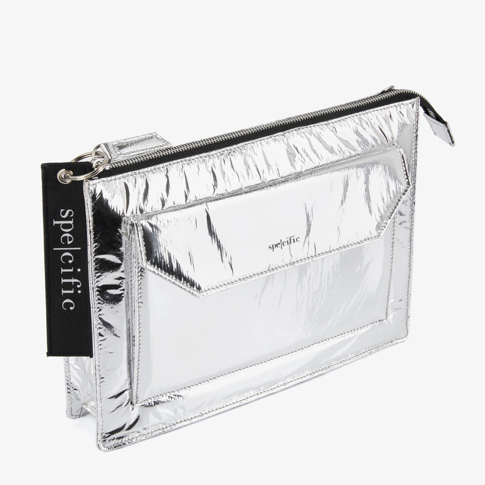 SPE004 | Pochette Tech Small | Silver
