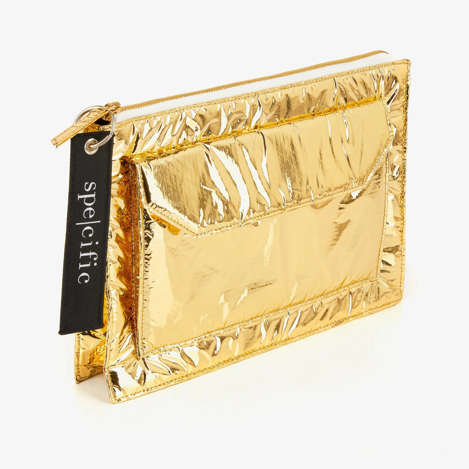SPE004 | Pochette Tech Small | Gold