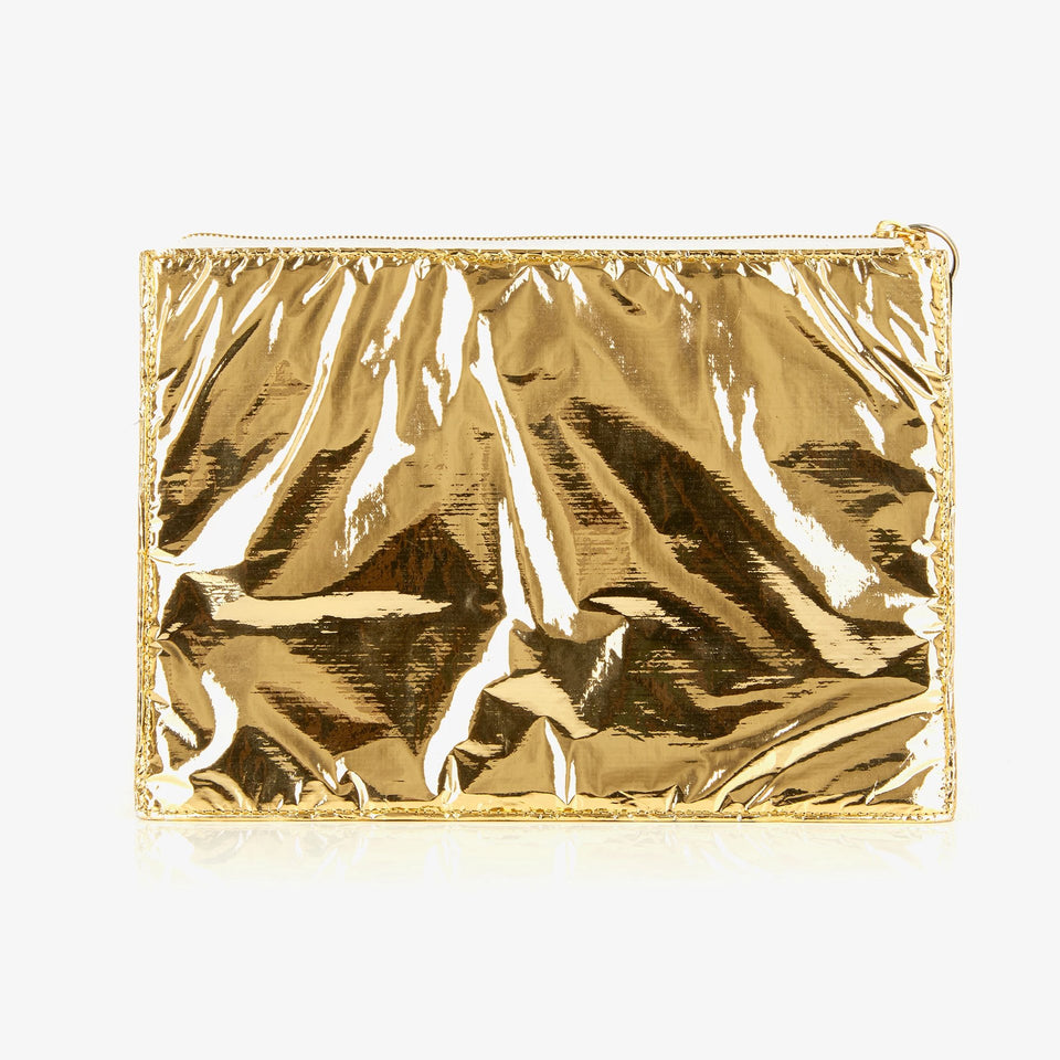 SPE004 | Small Tech Pouch | Gold