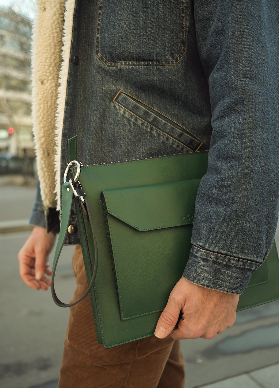 SPE002 | Pochette Tech Large | Foret