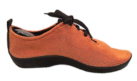 LS Lace up - Orange