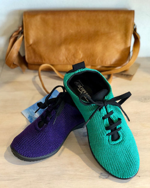 LS Lace up - Emerald