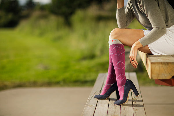 Fashion Series: Compression Socks Benefits for the Fall Fashion Enthusiast