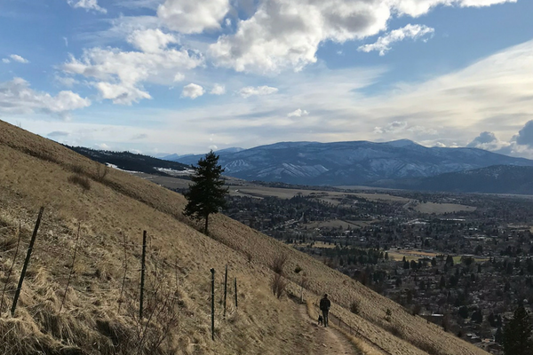 My Compression Sock Adventure: Hiking Mount Sentinel