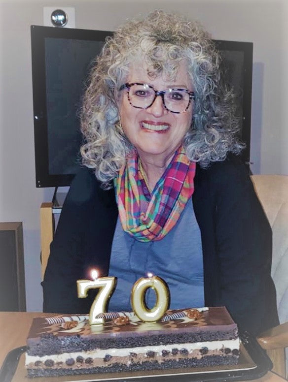 Marilyn celebrates her 70th birthday