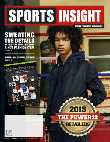 Sports Insight Magazine's March/April issue cover