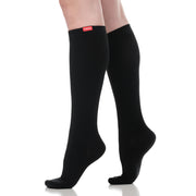 Medical-grade moisture-wick nylon compression socks
