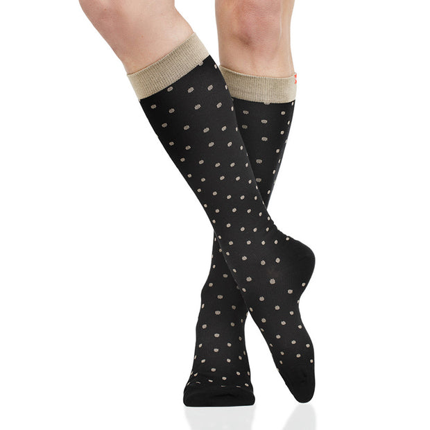 30-40 mmHg women's cotton compression socks