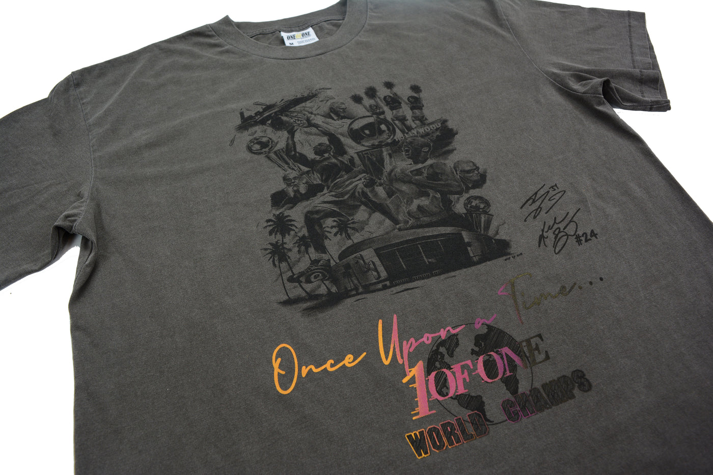 """Once Upon A Time"" Tee (Brown)"