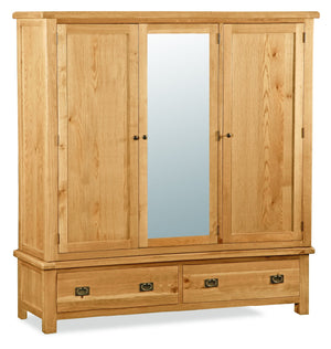 Suffolk Extra Large Triple Wardrobe