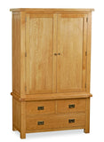 Suffolk Gents 3 Drawer Wardrobe