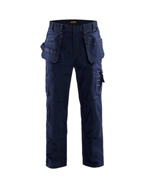 Blaklader Navy Blue Twill Fire Resistant Pants