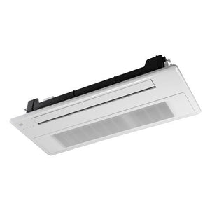 "Mitsubishi Mr.Slim MLZ-KP09NA-U1 1 Way Ceiling-Cassette (47.25"" x 16.875"" Grille Included)"